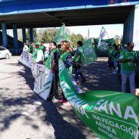 ATE protestó en San Luis contra las políticas del Gobierno Nacional