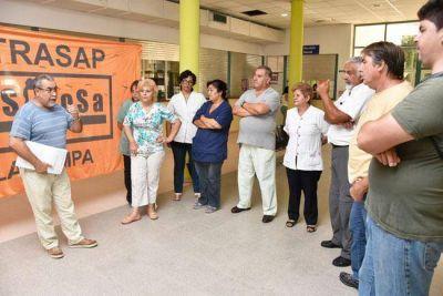 Sitrasap respalda el decreto del gobernador Verna