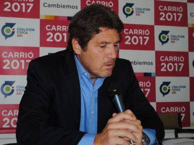 El diputado Castello cuestionó la decisión que Carrió no sea la candidata en la Provincia