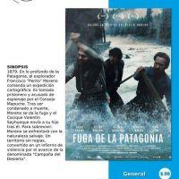 Se proyectará Fuga de la Patagonia en el Espacio INCAA Bariloche