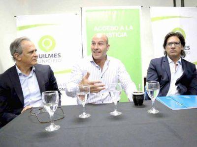 Garavano y Molina visitaron un consultorio jurídico local