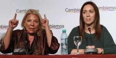 """Fuego amigo al estilo Carrió: """"Vidal cree que gana sola y con cualquier candidato"""""""