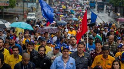 Obispos venezolanos exigen al Gobierno respetar manifestaciones