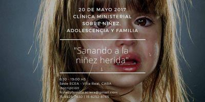 Clínica ministerial sobre niñez, adolescencia y familia