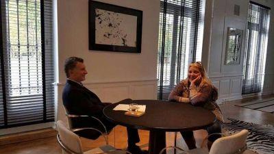Mauricio Macri recibió a Elisa Carrió en Olivos: