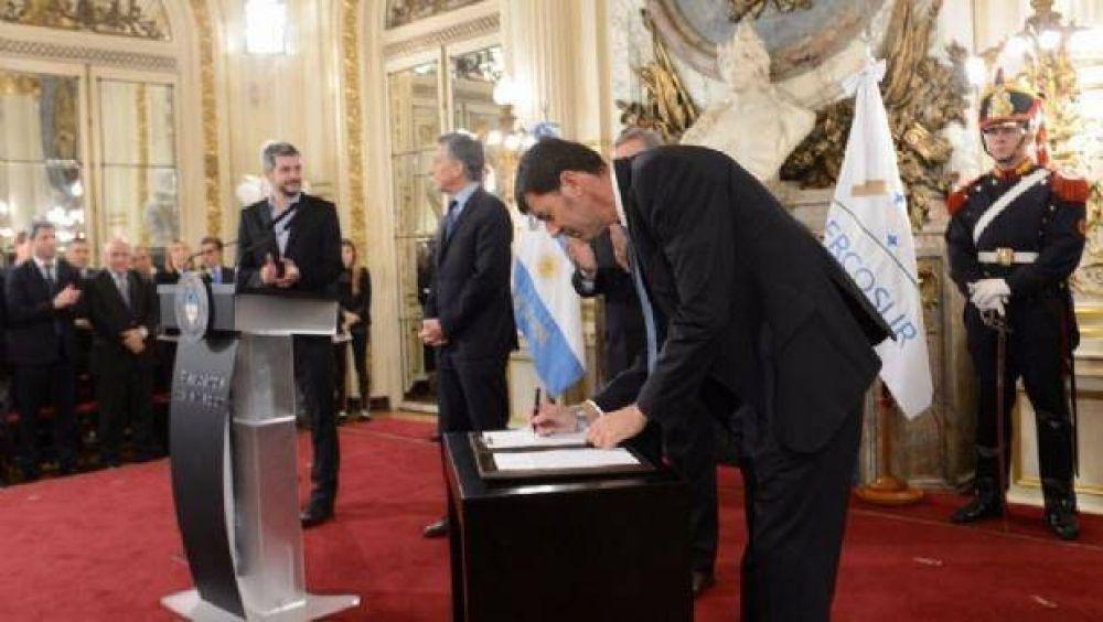 Catamarca firmó el Acuerdo Federal Energético