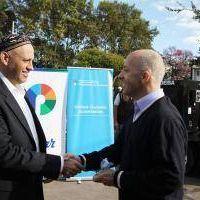 Pilar se incorporó a la Unidad de Ciudades Sustentables tras visita de Bergman
