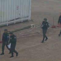 Gendarmería intentó desalojar el bloqueo de ATE en zona petrolera