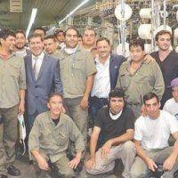 Casas garantizó la defensa de los trabajadores y la industria