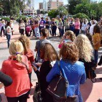 UTELPA protestó por el apartamiento del profesor acusado de abuso: dice que fue detenido ilegalmente