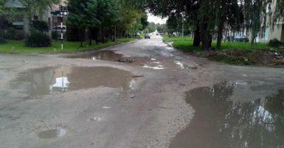 Obras hidráulicas y de asfalto, las cuentas pendientes en Los Pinares