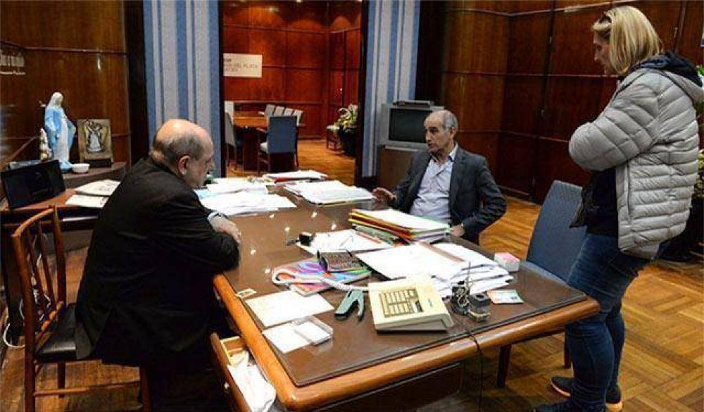 Arroyo y Baragiola con el vicegobernador: ¿Una foto pensando en las legislativas?