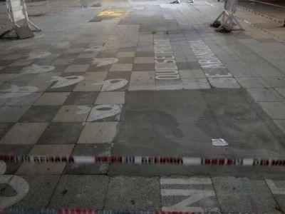"""[#YLosPañuelos?] Santoro: """"Queremos saber por qué cubrieron de cemento la plaza"""""""