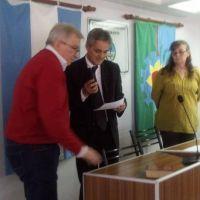 Ricardo Belos asumió como Presidente del Concejo en Ramallo