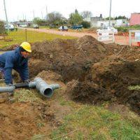 Los Pinares: tras el reclamo de vecinos, OSSE asegura haber realizado obras