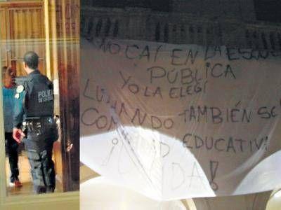 """""""La policía está amedrentando"""""""