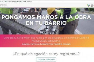 Presupuesto Participativo: Los vecinos de Hernández y San Carlos ya pueden votar obras