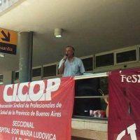"""Médicos denuncian """"persecución"""" de la Provincia hacia quienes hacen paro"""