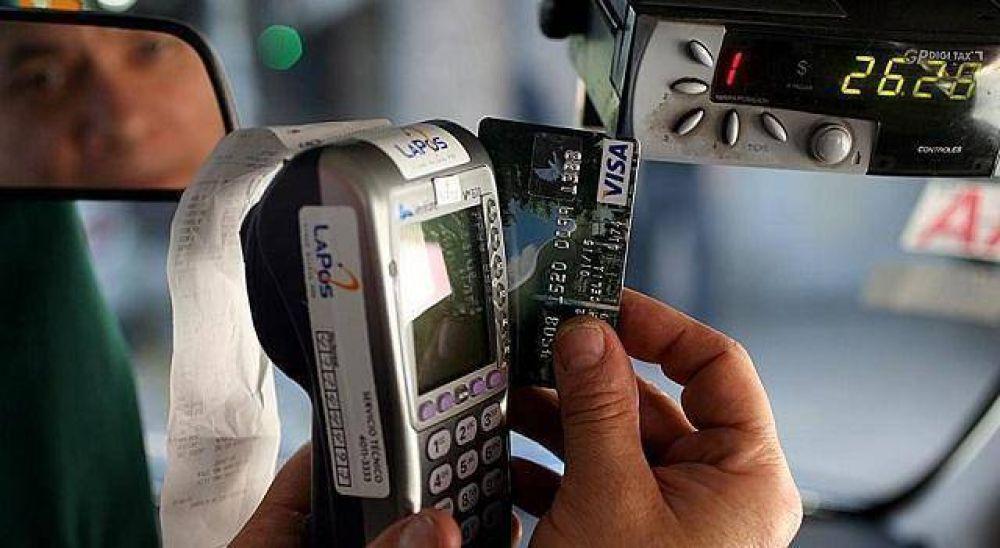 Taxis: se podrá abonar con tarjeta de crédito y débito