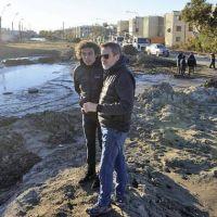 Planifican obras para la reconstrucción de la ciudad