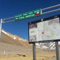 Comienza el informe de Impacto Ambiental en Chile por el Túnel de Agua Negra