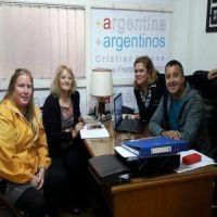 Colectivos sin rampas: Azcona se reunió con el Consejo Municipal de Discapacidad