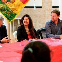 La colectividad boliviana, con nueva comisión