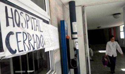 Provincia: anuncian un nuevo paro de médicos para el miércoles y jueves