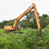 El municipio intensifica tareas de limpieza de canales y desagües pluviales