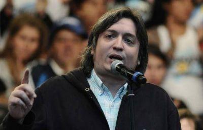 Máximo Kirchner cruzó a Frigerio