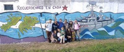Se realizó un homenaje a los héroes de Malvinas bolivarenses