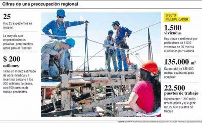 Preocupación por expedientes parados que frenan numerosas obras en la Región