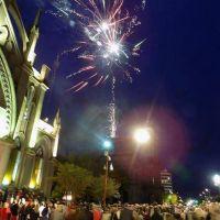 Con gran despliegue y acompañamiento, se celebró el cumpleaños 133 de la ciudad