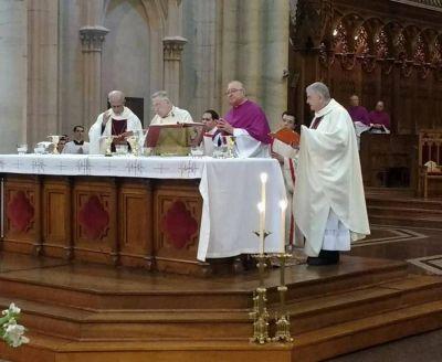 Celebración de las bodas de plata episcopales de Mons. Aguer