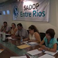 Sadop rechazó la propuesta salarial y consensuará acciones con los otros gremios