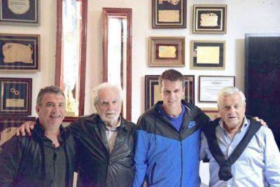 'Pacho' ODonnell se reunió con Urribarri, Cresto y Lauritto