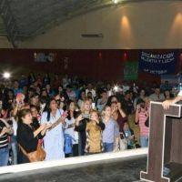 Capitanich abrió el Encuentro Nacional de Mujeres Peronistas