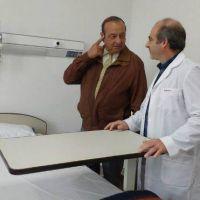Inauguraron la sala de internaciones del Hospital Pirovano