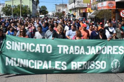 Sin la firma de ATE, los trabajadores municipales de Berisso cerraron el acuerdo salarial