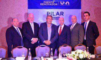 D´Onofrio realizó un acto en Pilar junto al equipo de Giuliani