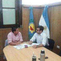 Pacheco, intendente de Pellegrini, realizó gestiones para fortalecer Infraestructura y crear un Jardín Maternal