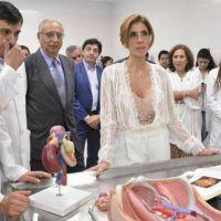 La gobernadora inauguró el edificio de laboratorios de la Facultad de Ciencias Médicas