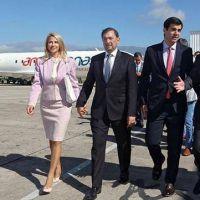 Se inauguró la ruta aérea Paraguay-Salta-Iquique