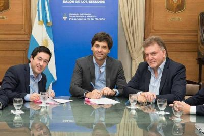 Obras de infraestructura y mejoramiento del hábitat para Malvinas Argentinas
