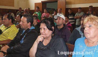 El sindicato de Camioneros se solidarizó con los trabajadores municipales