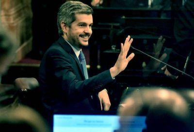 Marcos Peña informó sobre la gestión de Gobierno ante el Senado