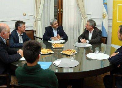El intendente Martínez recibió a funcionarios del Ministerio de Agroindustria de la Nación