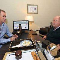 """Bordet y Busti acordaron """"articular un frente"""" para las elecciones de este año"""