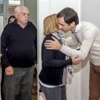 El intendente Petrecca recibió a la familia de Claudia Colo