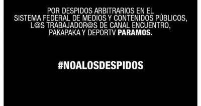 Paralizaron Encuentro, Paka Paka y DeporTV por despidos